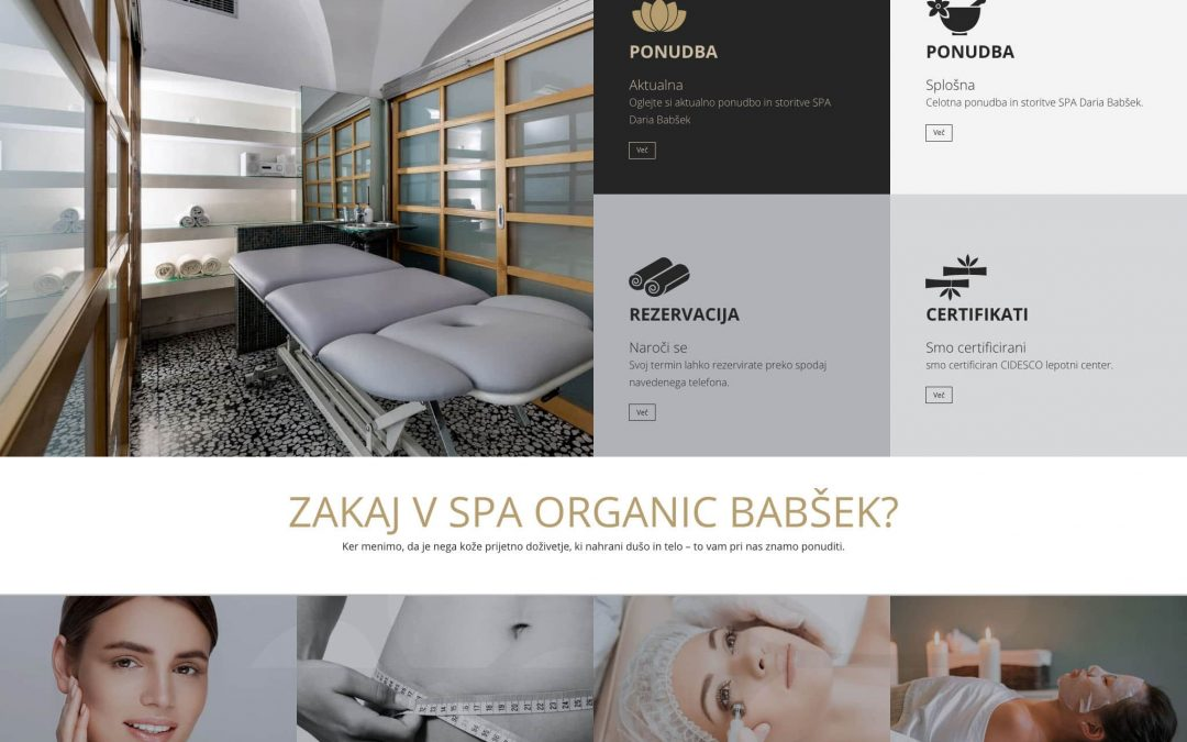 Spa organic Babšek